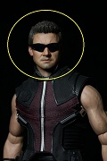 Hawkeye Head with Sunglass